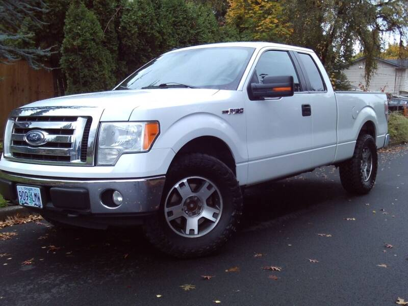 2010 Ford F-150 for sale at Redline Auto Sales in Vancouver WA