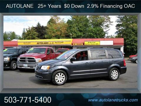 2014 Chrysler Town and Country for sale at Auto Lane in Portland OR