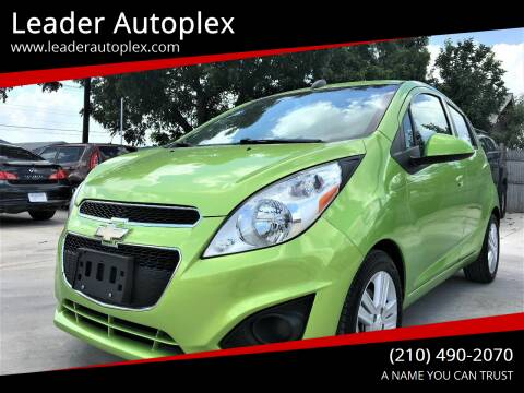 2015 Chevrolet Spark for sale at Leader Autoplex in San Antonio TX