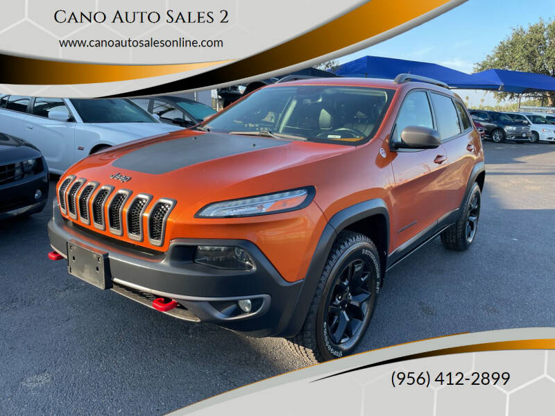 2015 Jeep Cherokee for sale at Cano Auto Sales 2 in Harlingen TX
