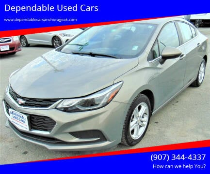 2017 Chevrolet Cruze for sale at Dependable Used Cars in Anchorage AK