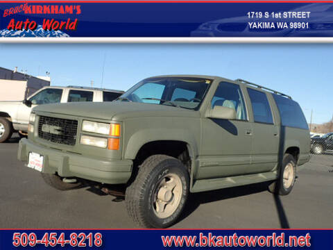 1994 GMC Suburban for sale at Bruce Kirkham Auto World in Yakima WA
