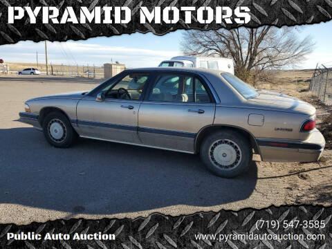 1995 Buick LeSabre for sale at PYRAMID MOTORS - Pueblo Lot in Pueblo CO