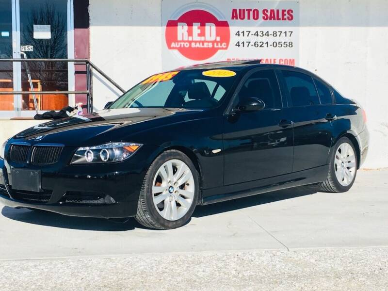 2007 BMW 3 Series for sale at R.E.D. Auto Sales LLC in Joplin MO