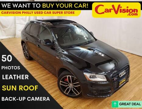 2017 Audi SQ5 for sale at Car Vision Mitsubishi Norristown - Car Vision Philly Used Car SuperStore in Philadelphia PA