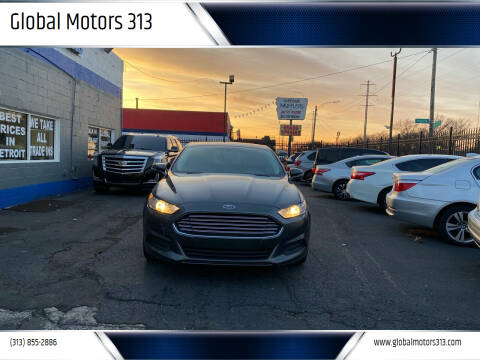 2015 Ford Fusion for sale at Global Motors 313 in Detroit MI