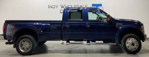 2008 Ford F-450 Super Duty for sale at Indy Wholesale Direct in Carmel IN