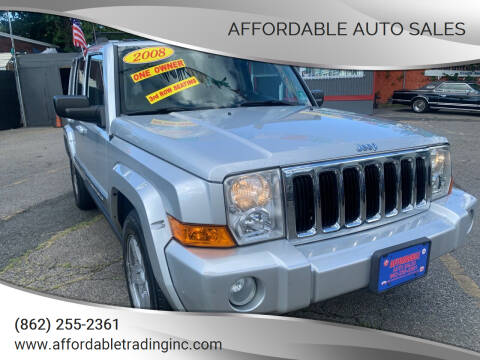 2008 Jeep Commander for sale at Affordable Auto Sales in Irvington NJ