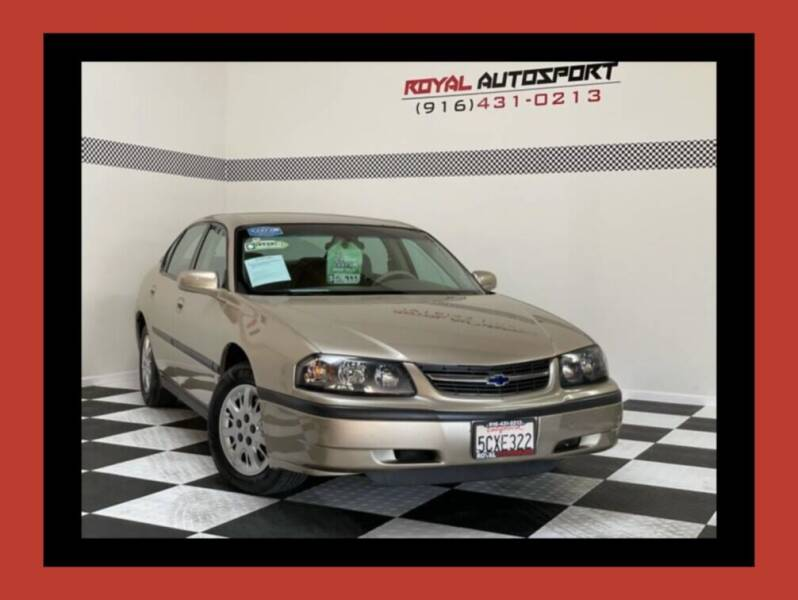 2004 Chevrolet Impala for sale at Royal AutoSport in Sacramento CA