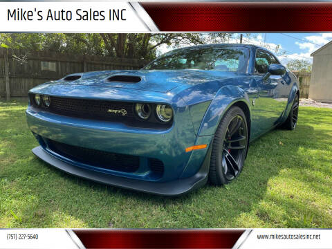 2020 Dodge Challenger for sale at Mike's Auto Sales INC in Chesapeake VA