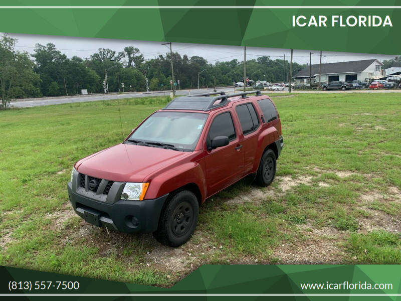 2008 Nissan Xterra for sale at ICar Florida in Lutz FL