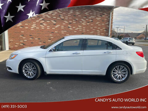2013 Chrysler 200 for sale at Candy's Auto World Inc in Toledo OH