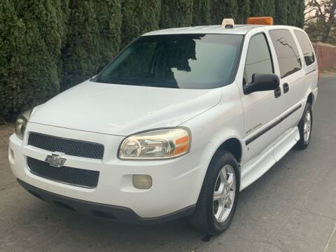 2007 Chevrolet Uplander for sale at River City Auto Sales Inc in West Sacramento CA