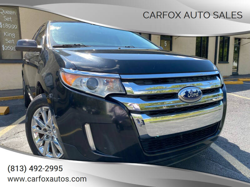 2013 Ford Edge for sale at Carfox Auto Sales in Tampa FL