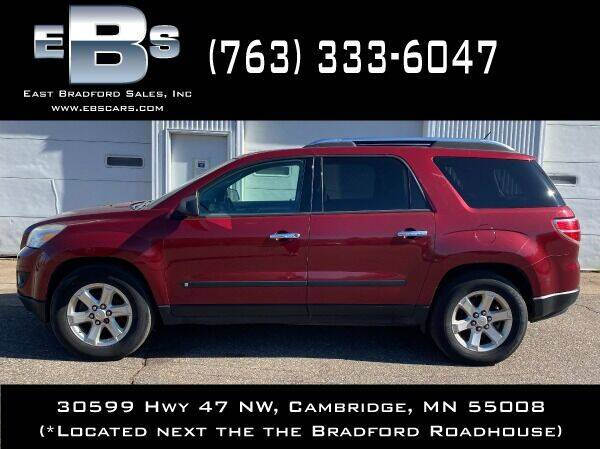 2008 Saturn Outlook for sale at East Bradford Sales, Inc in Cambridge MN