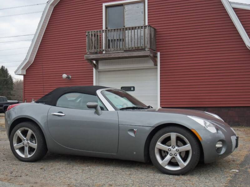 2006 Pontiac Solstice for sale at Red Barn Motors, Inc. in Ludlow MA