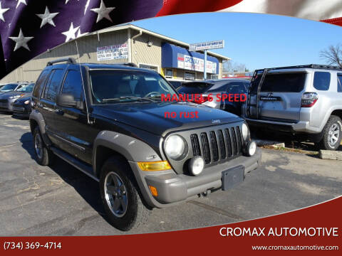 2006 Jeep Liberty for sale at Cromax Automotive in Ann Arbor MI