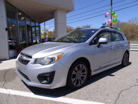 2013 Subaru Impreza for sale at KING RICHARDS AUTO CENTER in East Providence RI