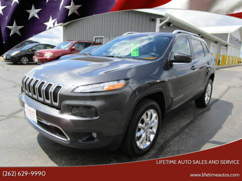 2015 Jeep Cherokee for sale at Lifetime Auto Sales and Service in West Bend WI