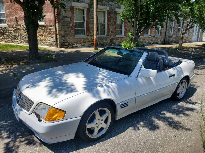 1994 Mercedes-Benz SL-Class for sale at EBN Auto Sales in Lowell MA