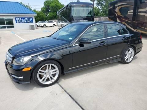 2013 Mercedes-Benz C-Class for sale at Kell Auto Sales, Inc - Grace Street in Wichita Falls TX