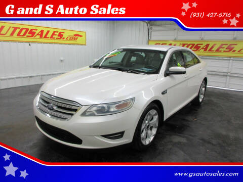 2010 Ford Taurus for sale at G and S Auto Sales in Ardmore TN