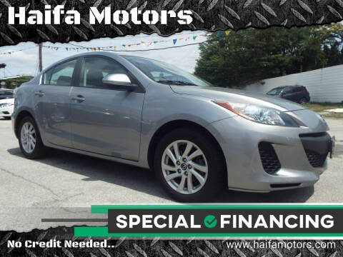 2013 Mazda MAZDA3 for sale at Haifa Motors in Philadelphia PA