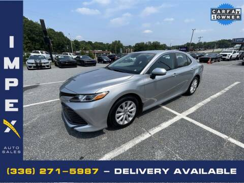 2019 Toyota Camry for sale at Impex Auto Sales in Greensboro NC