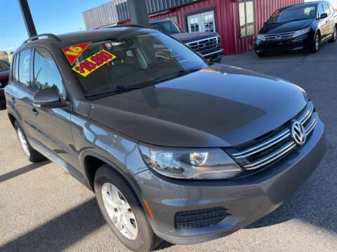 2016 Volkswagen Tiguan for sale at Top Line Auto Sales in Idaho Falls ID