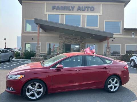 2016 Ford Fusion for sale at Moses Lake Family Auto Center in Moses Lake WA