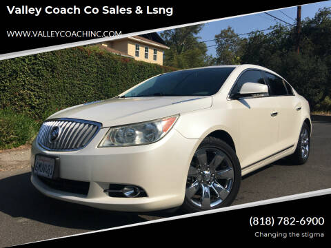 2011 Buick LaCrosse for sale at Valley Coach Co Sales & Lsng in Van Nuys CA