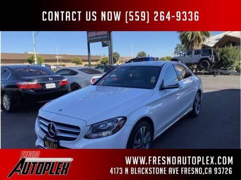 2018 Mercedes-Benz C-Class for sale at Carros Usados Fresno in Clovis CA