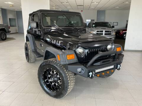 2005 Jeep Wrangler for sale at Auto Mall of Springfield in Springfield IL