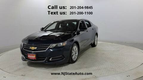 2016 Chevrolet Impala for sale at NJ State Auto Used Cars in Jersey City NJ