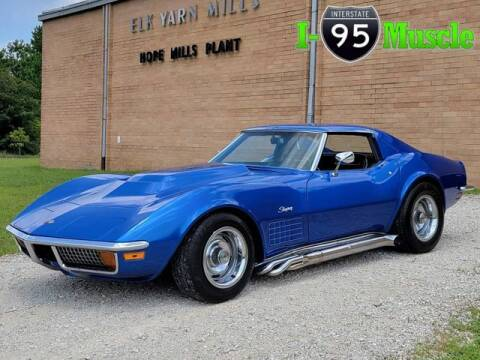 1972 Chevrolet Corvette for sale at I-95 Muscle in Hope Mills NC