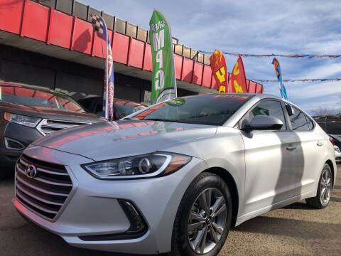2018 Hyundai Elantra for sale at Duke City Auto LLC in Gallup NM