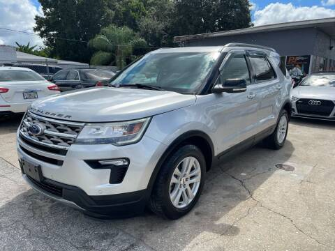 2018 Ford Explorer for sale at P J Auto Trading Inc in Orlando FL