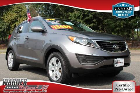 2013 Kia Sportage for sale at Warner Motors in East Orange NJ
