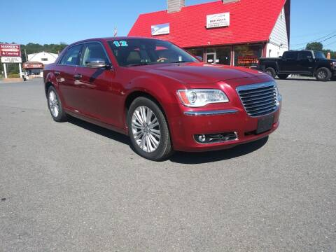 2012 Chrysler 300 for sale at Mulligan's Auto Exchange LLC in Paxinos PA