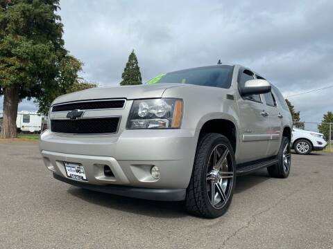2007 Chevrolet Tahoe for sale at Pacific Auto LLC in Woodburn OR