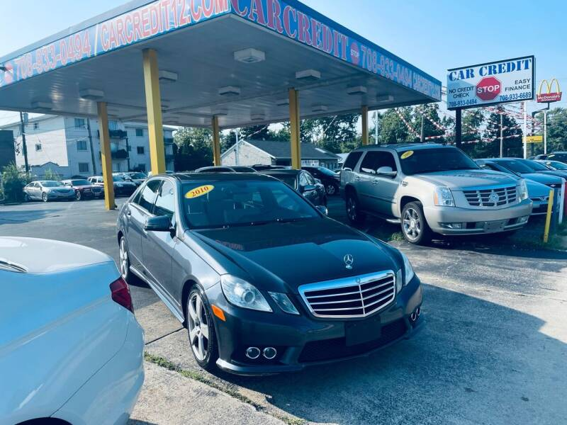 2010 Mercedes-Benz E-Class for sale at Car Credit Stop 12 in Calumet City IL