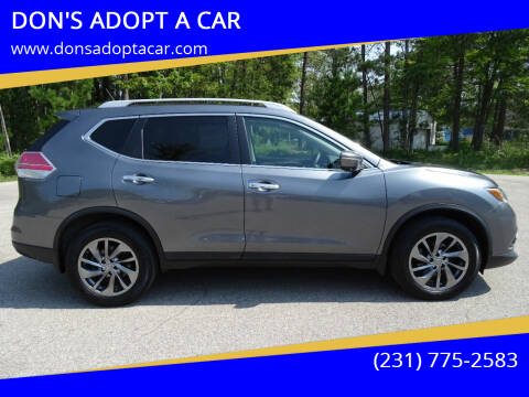 2015 Nissan Rogue for sale at DON'S ADOPT A CAR in Cadillac MI