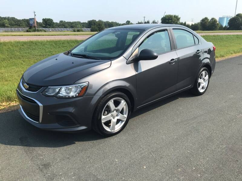 2017 Chevrolet Sonic for sale at Whi-Con Auto Brokers in Shakopee MN
