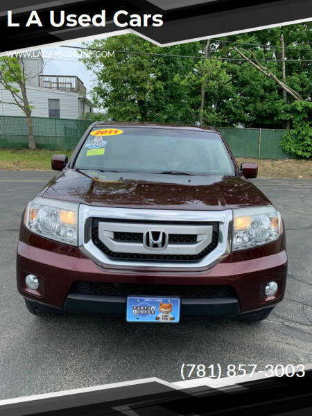 2011 Honda Pilot for sale at L A Used Cars in Abington MA
