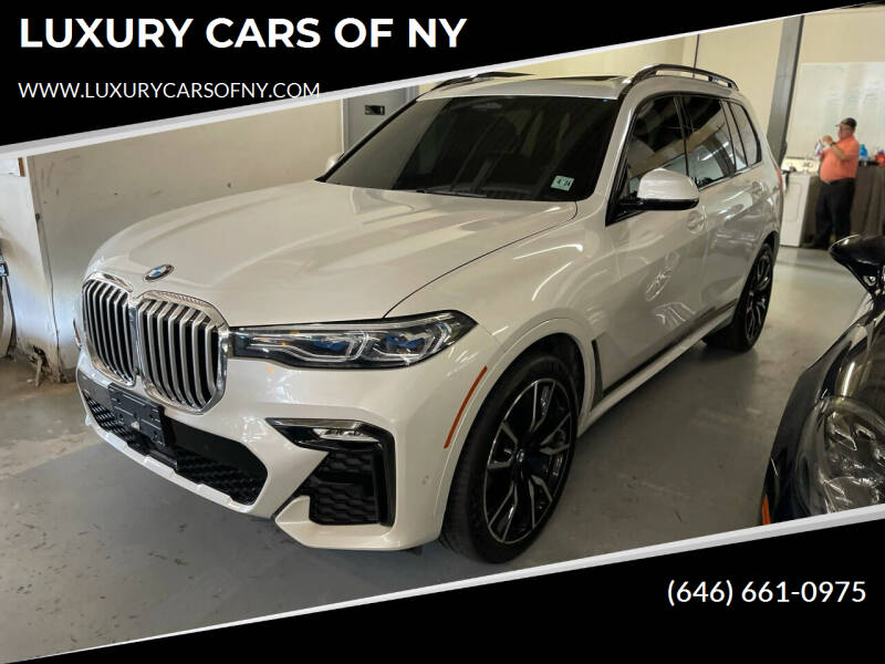 2019 BMW X7 for sale at LUXURY CARS OF NY in Queens NY