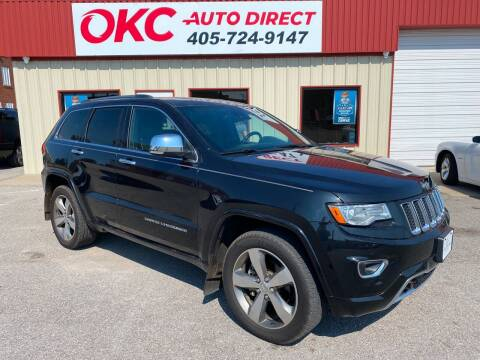 2016 Jeep Grand Cherokee for sale at OKC Auto Direct in Oklahoma City OK