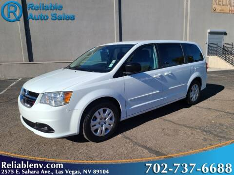 2013 Dodge Grand Caravan for sale at Reliable Auto Sales in Las Vegas NV
