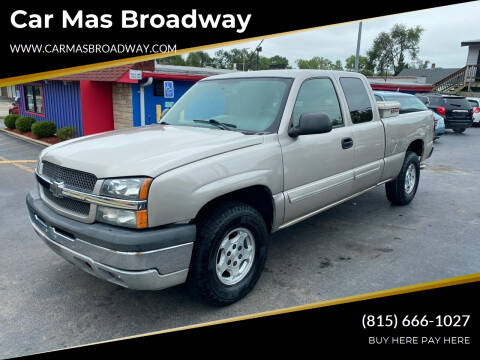 2004 Chevrolet Silverado 1500 for sale at Car Mas Broadway in Crest Hill IL