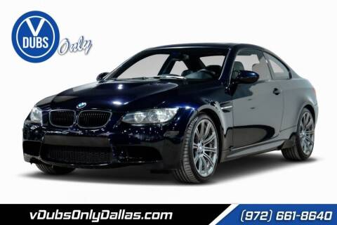 2011 BMW M3 for sale at VDUBS ONLY in Dallas TX
