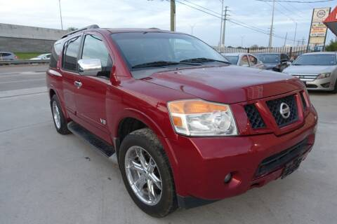 2008 Nissan Armada for sale at Universal Credit in Houston TX